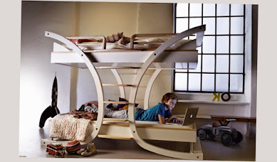 Photo Picture of Really Unique Design of Cool Bunk Beds For Girls Ideas
