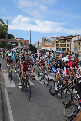 Vuelta ciclista a España por Ribadesella, 31/8/2016