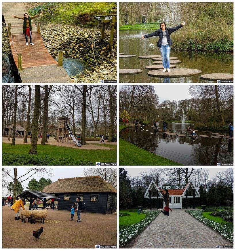 Keukenhof: parque das Tulipas da Holanda