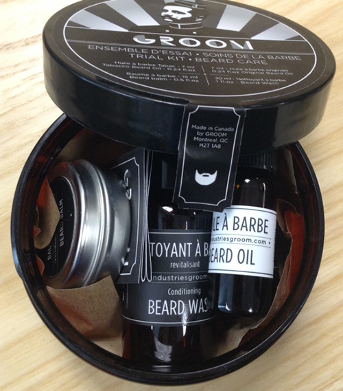 Les industries Groom Trial Kit Beard Care ~ #Review #Giveaway