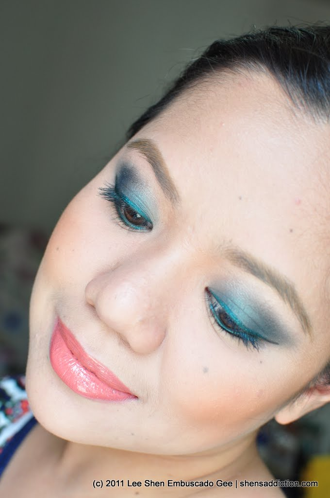 The Uncurated Life: FOTD: A Jade Nomadic Goddess (clinique. the body shop. bobbi brown. ellana)
