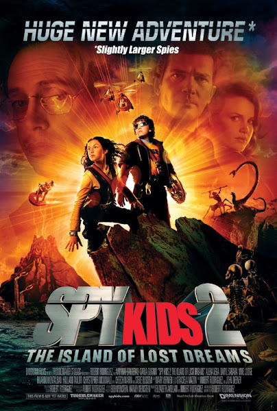 Poster of Spy Kids 2 Island of Lost Dreams 2002 Hindi 720p BRRip Dual Audio Download