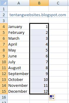 Cara Membuat Tanggal Berurutan Di Excel : membuat, tanggal, berurutan, excel, Mengurutkan, Bulan, Angka, Excel, Komputer