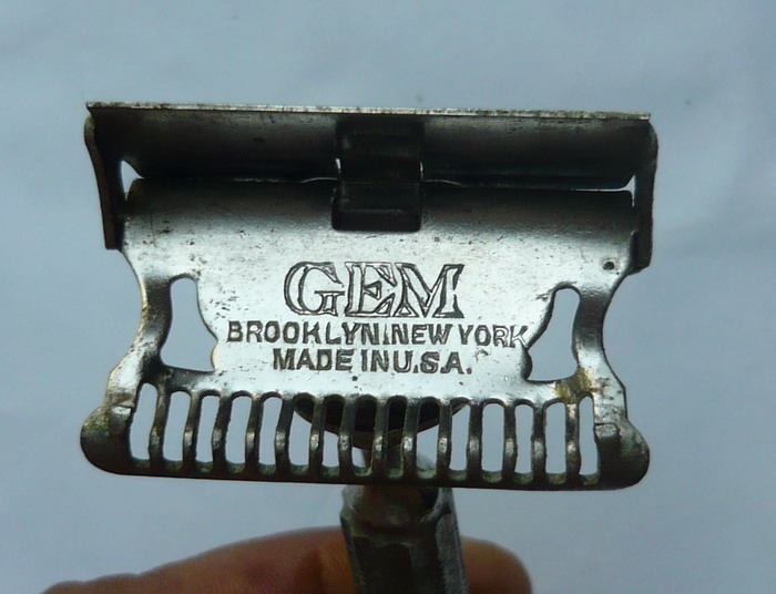 Brooklyn new york made in usa pat 1912 2 blade silet merk two eighty 280 double edge made in republic of ireland nos stock 5 pcs