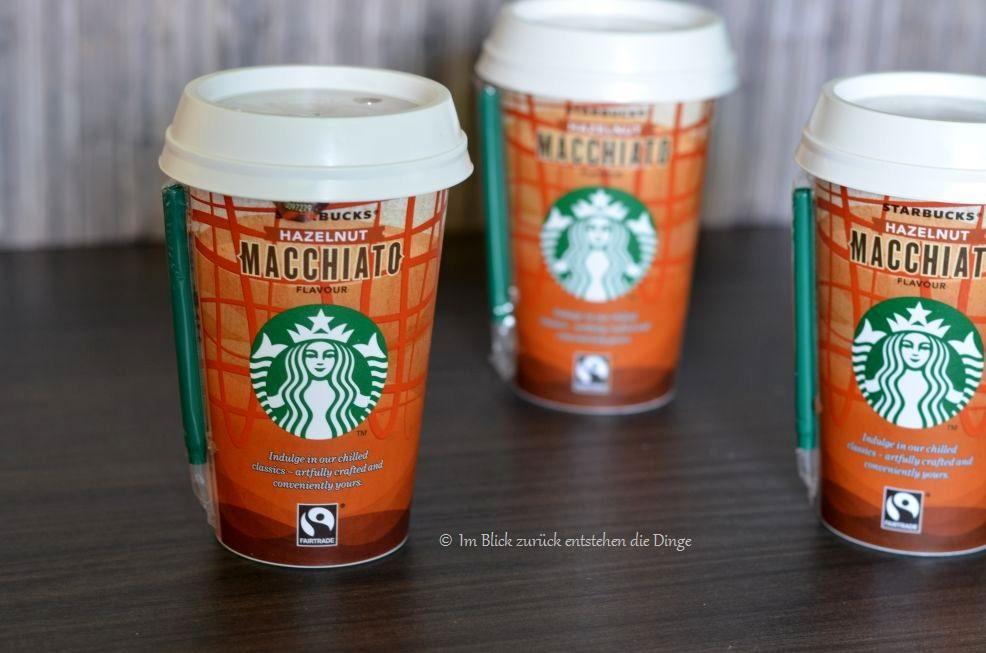 Im Blick zurück entstehen die Dinge: Starbucks direkt aus dem Kühlregal