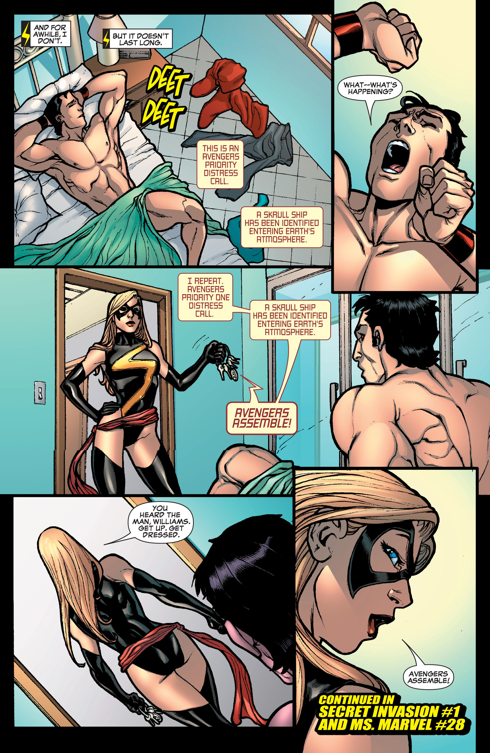 Read online Secret Invasion: The Infiltration comic -  Issue #10 - 23