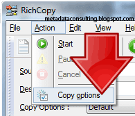 metadata consulting copy files without permissions