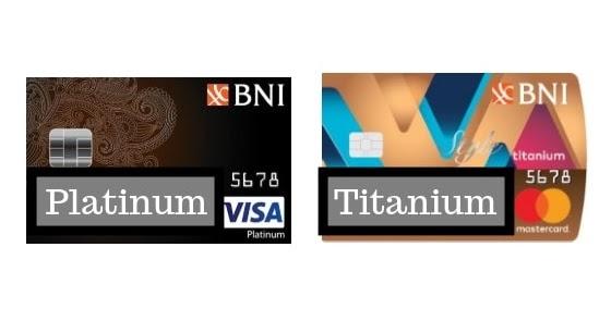 Kartu Kredit Bni Style Titanium Vs Platinum Kartu Bank