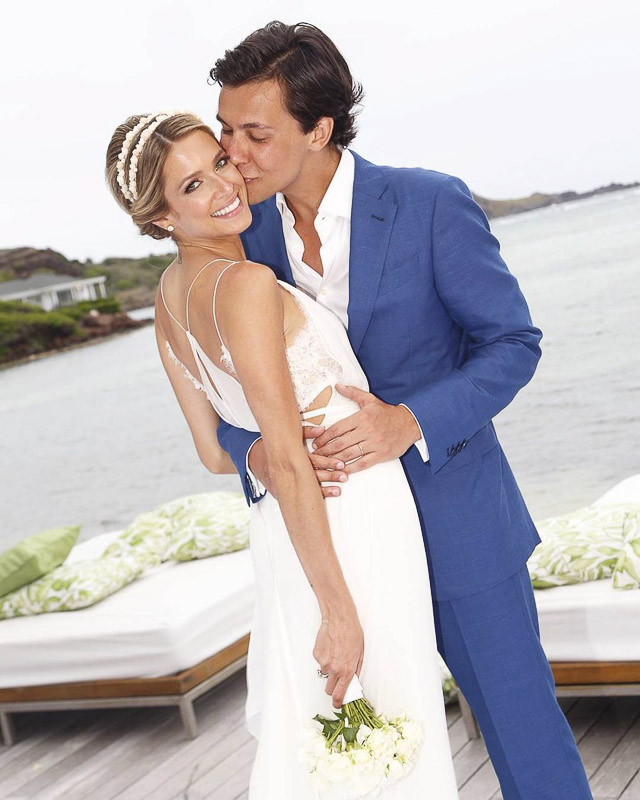 boda helena bordon wedding bride valentino calvin klein dress