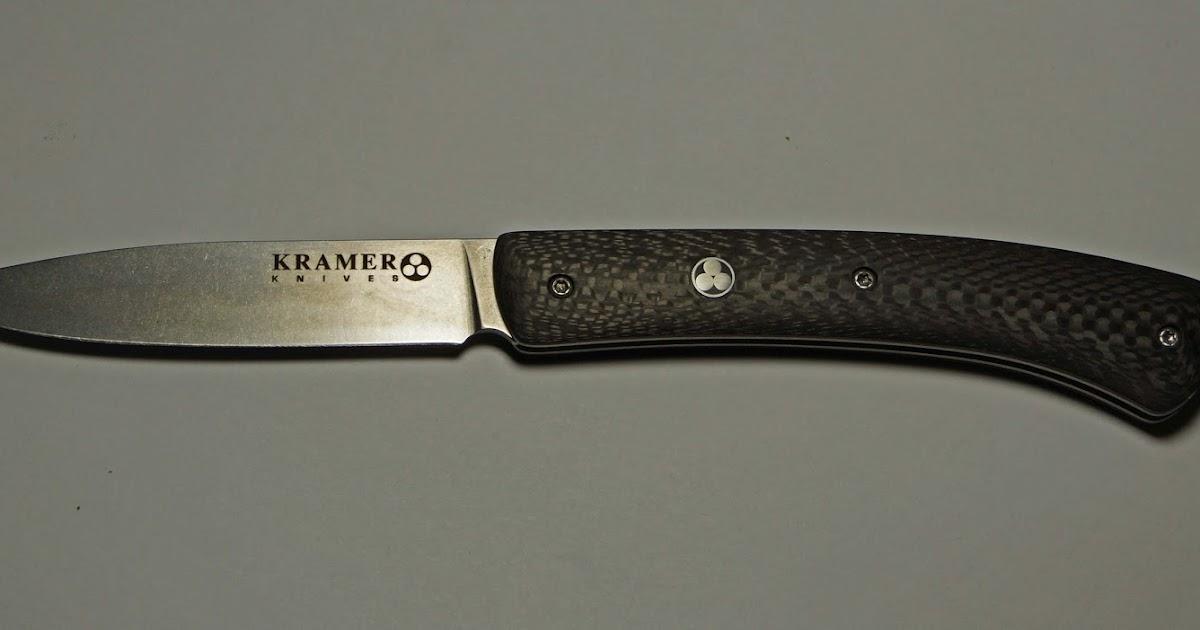 Mad meat genius bob kramer picnic knife for Kramer knives