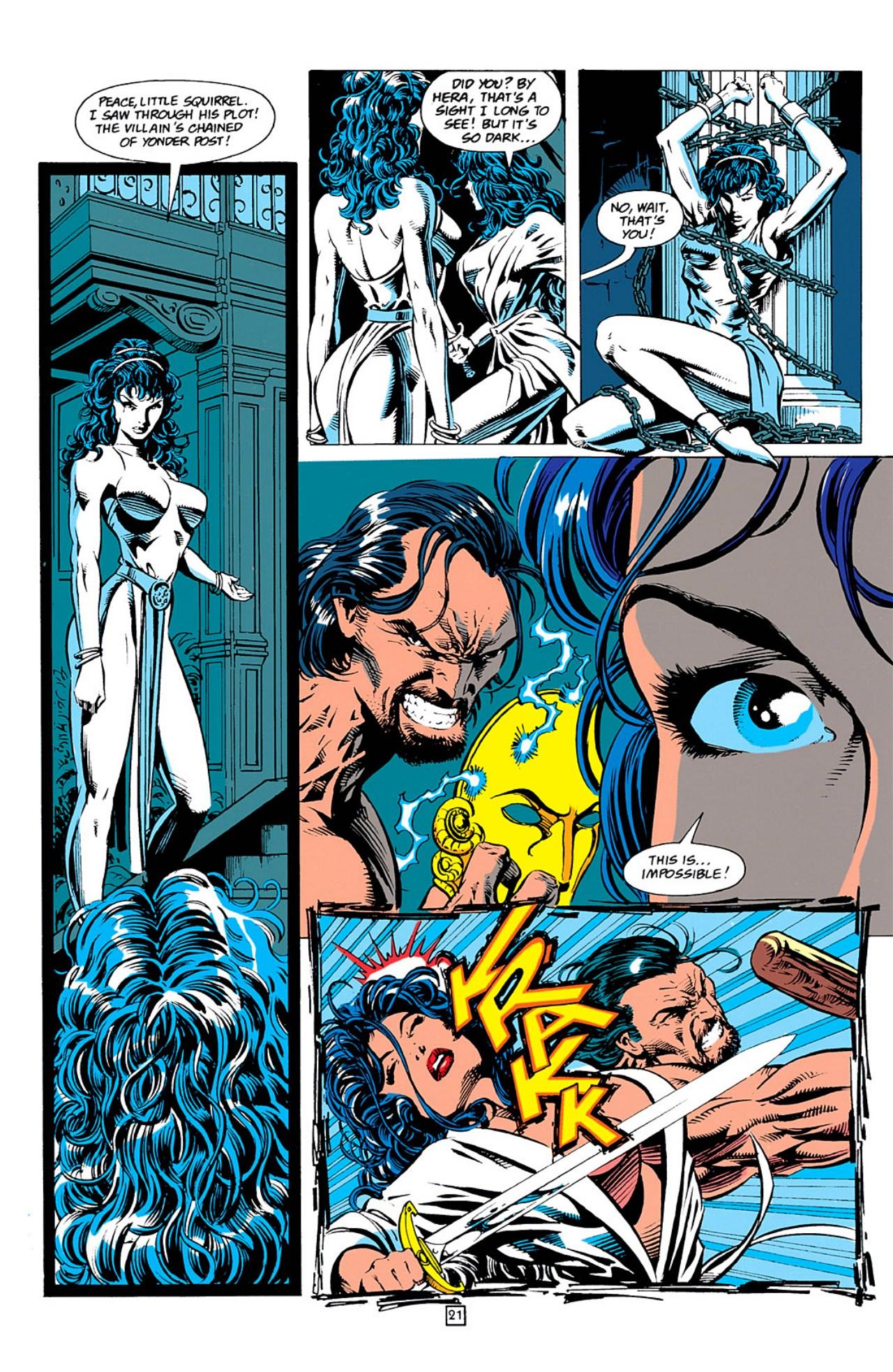 Read online Wonder Woman (1987) comic -  Issue #0 - 22