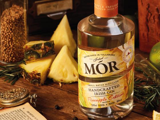 Mor Irish Gin, Pineapple edition