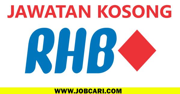 JAWATAN KOSONG DI RHB BANK 2016