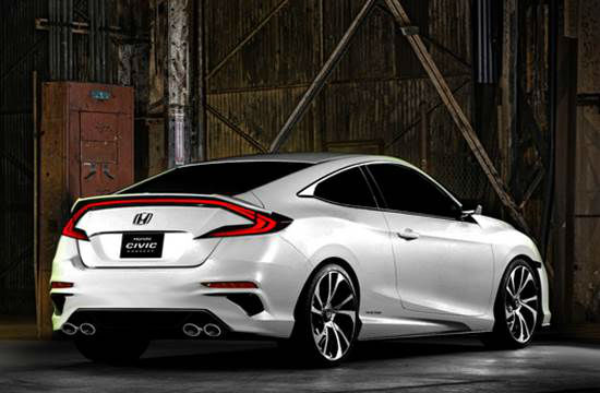 Honda Civic X Coupe vs. Honda Civic X Hatchback 2018