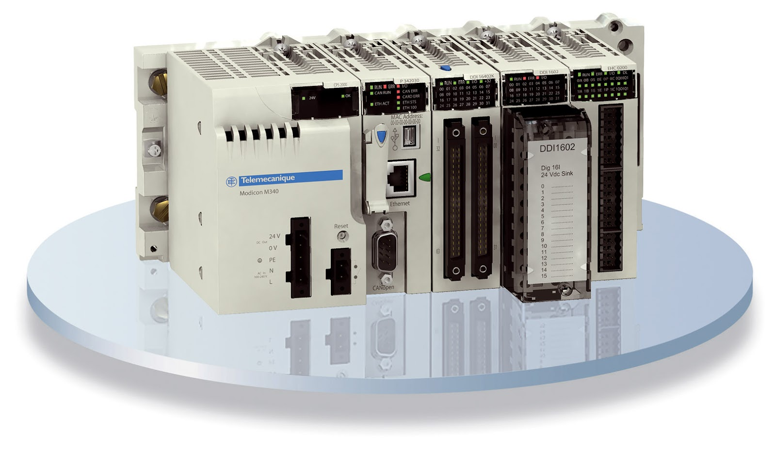 Plc Schneider Electric Modicon M340