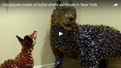 http://funchoice.org/video-collection/sculptures-made-of-bullet-shells