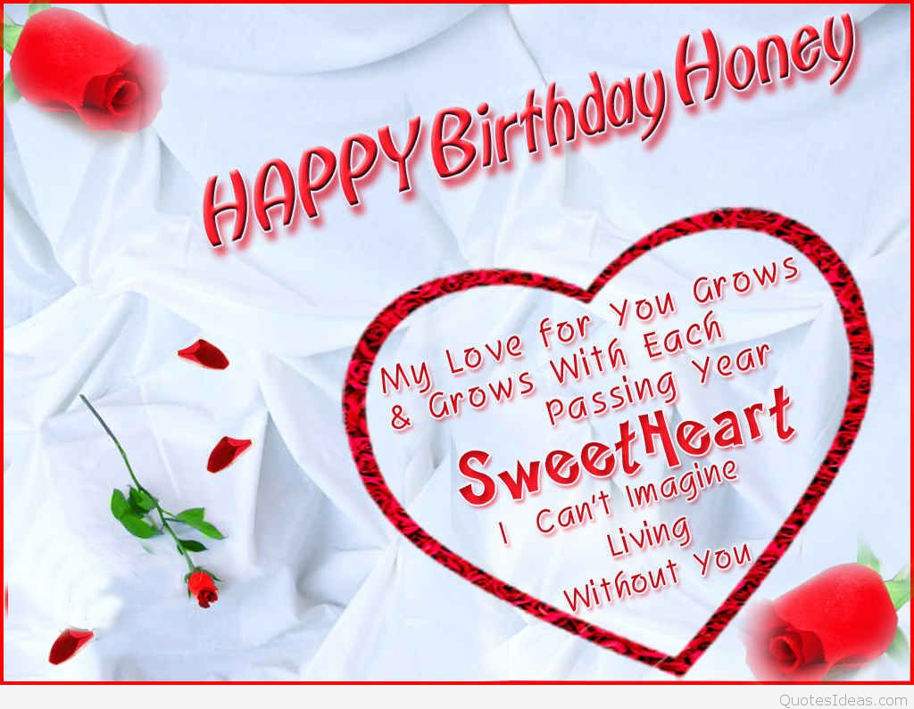 Romantic Birthday Wishes And Messages For Your Wife
