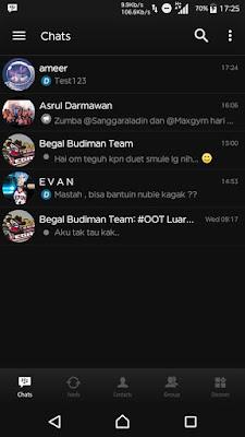 BBM BLACK v2.1 BASE BBM MOD 3.1.0.13 APK