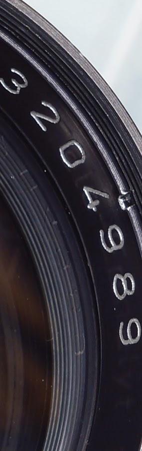 Enna München Tele-Ennalyt 135mm ƒ/3.5 Zebra