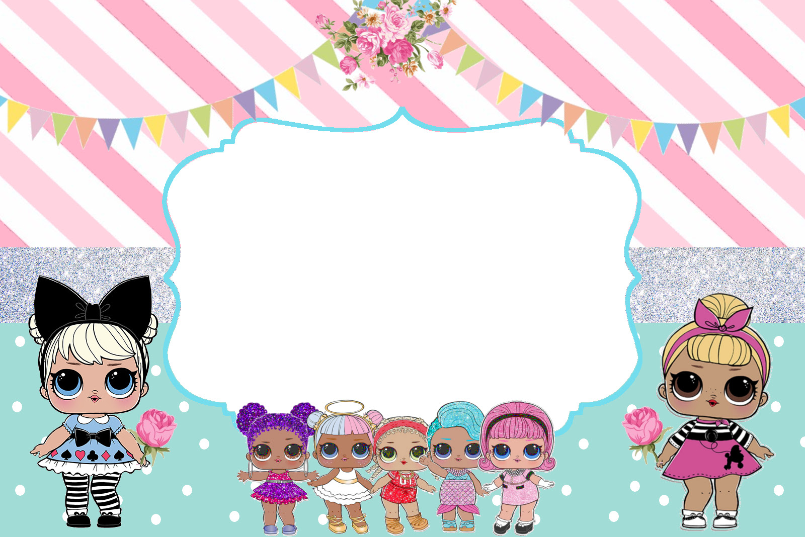 Printable Lol Surprise Dolls Birthday Party
