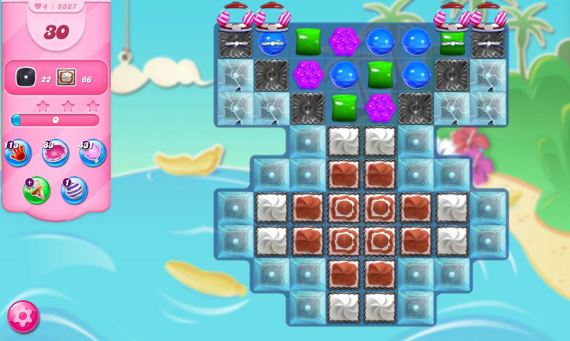 Candy Crush Saga level 5327