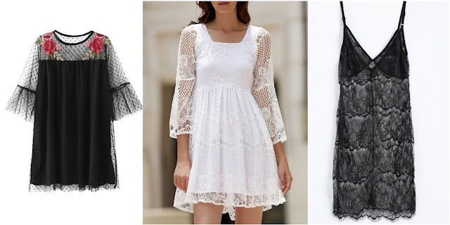 Wishlist Zaful: See Through Club Dress/ Tendência Transparência