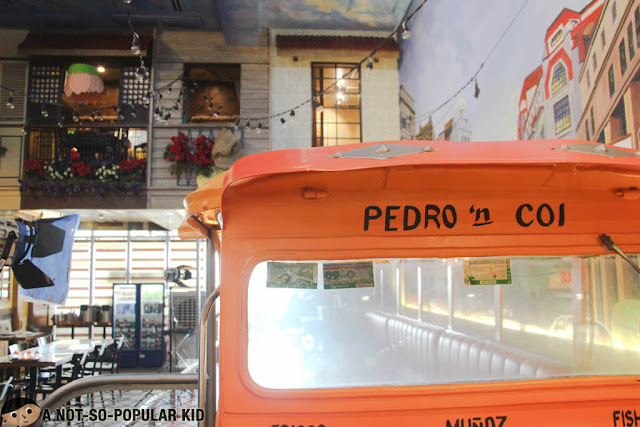 Pedro 'n Coi Jeepney in Fisher Mall