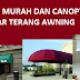 awning versus canopy
