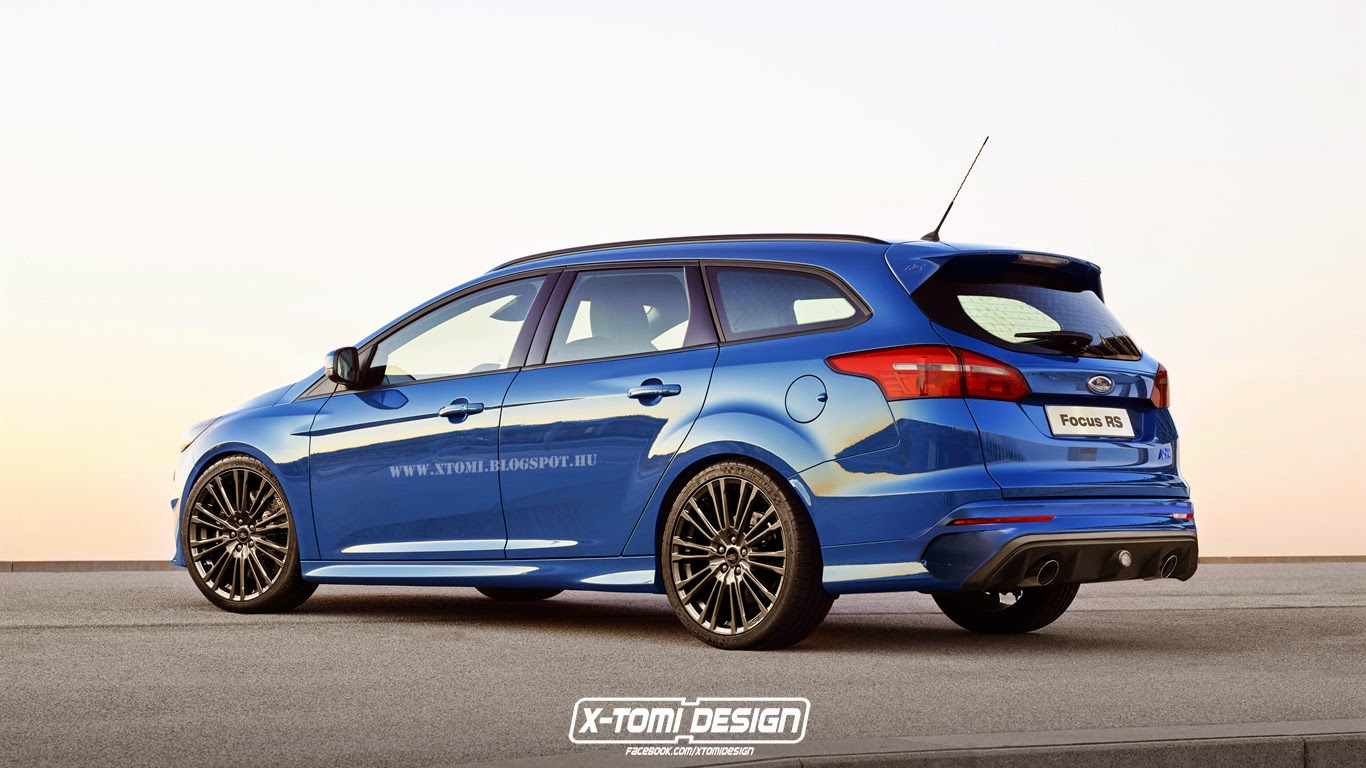 X Tomi Design Ford Focus Rs Turnier