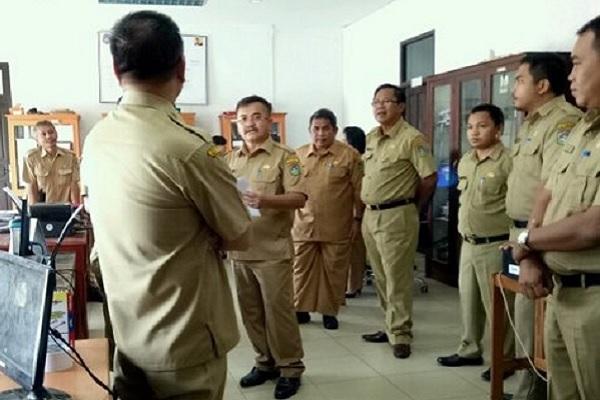 Samel Sidak, Wabup Bersilaturahmi ke Sejumlah OPD
