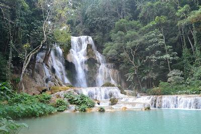 Tan Kuang Si Waterfall, Luang Prabang, Laos