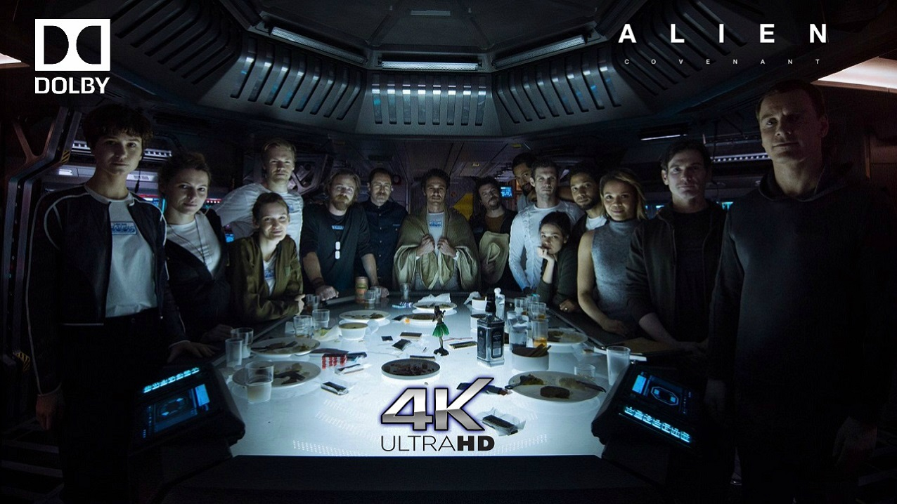 Alien: Covenant 4K Blu-ray
