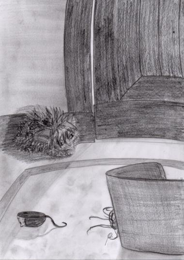Der kleine Tyrrin Hexenkater wartet und wartet und wartet ...