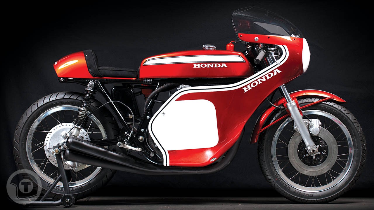 as close as it gets - honda cr750 replica ~ return of the cafe racers