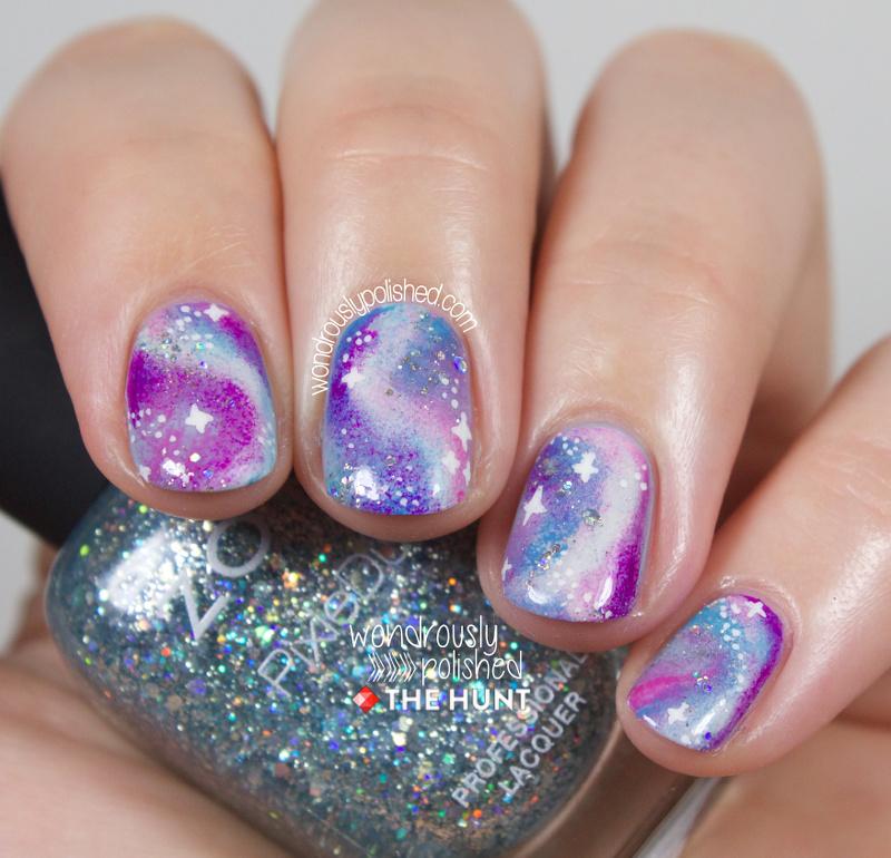 Wondrously Polished: Mani Monday - The Hunt: Pastel Galaxies