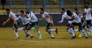 حسام حسن يستعد لمباراة أمام مصر المقاصة من مسابقة الدوري المصري الممتاز