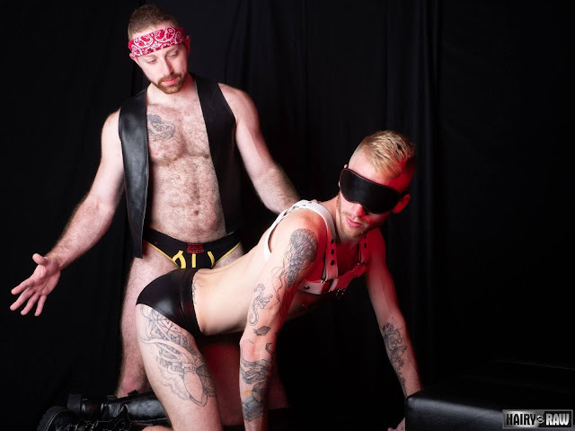 Hairy and Raw - Sean Knight and Declan Moore - Mirror