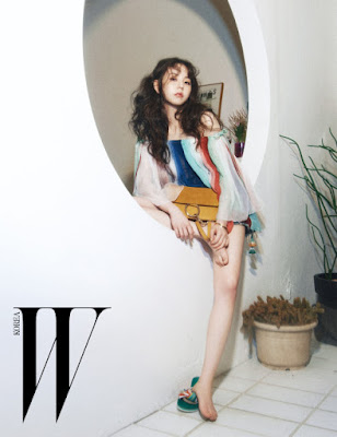 Sohee Wonder Girls - W Magazine April 2016