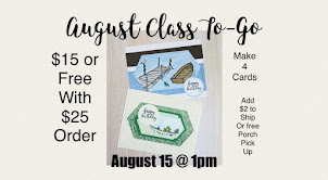 AUGUST CLASS TO-GO
