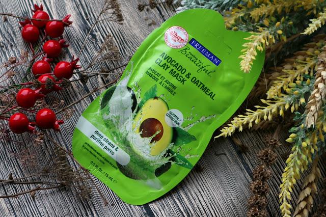 Freeman Feeling Beautiful Avocado & Oatmeal Facial Clay Mask Каолиновая маска для глубокого очищения кожи лица