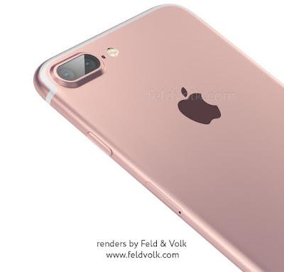 Lộ ảnh bản thiết kế mặt sau của Iphone 7