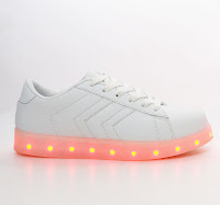 "Tough Kids ""ALL LIT UP"" shoes"