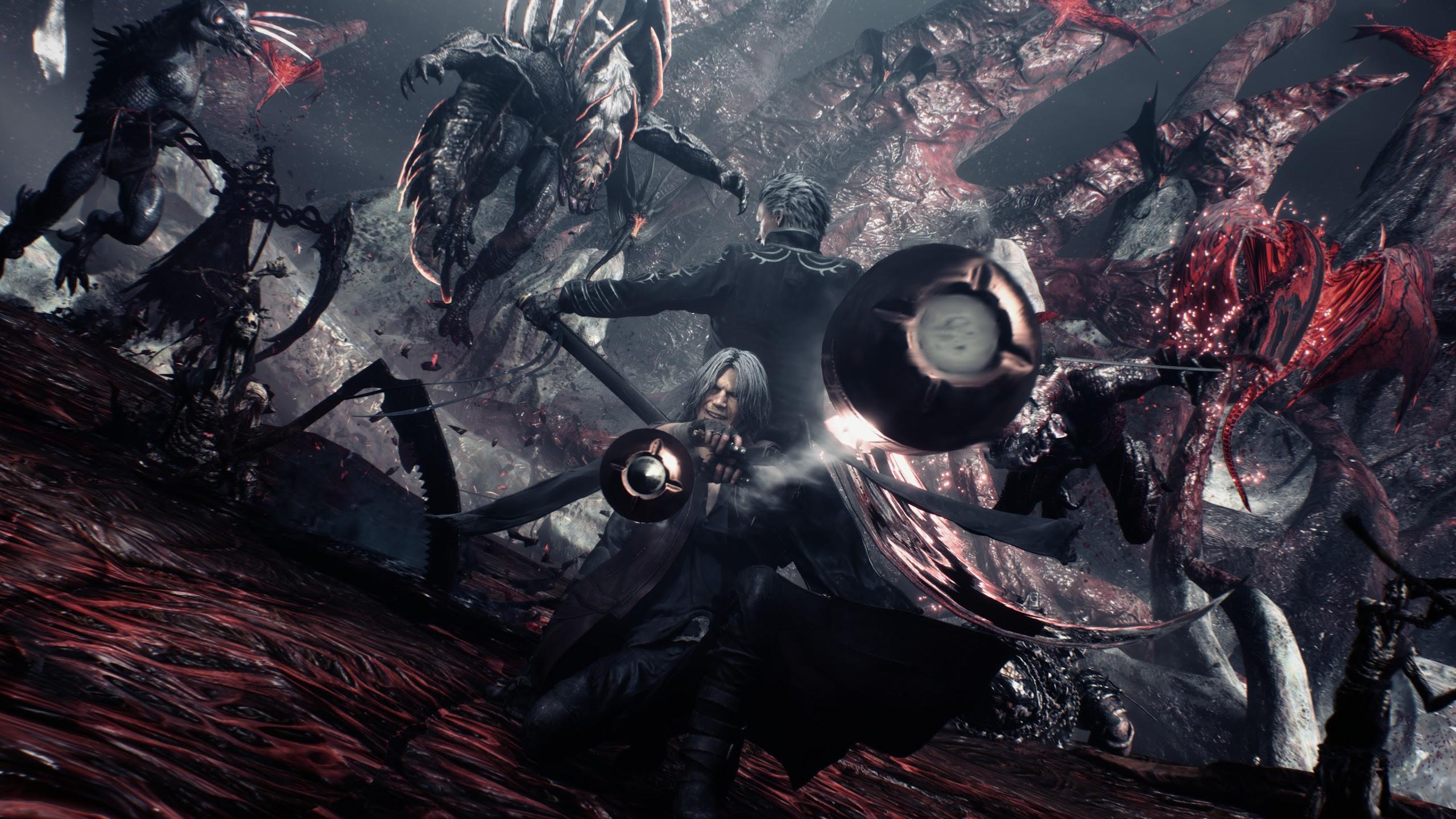 Devil May Cry 5 Dante Vergil 4k Wallpaper 85