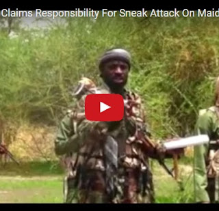 Latest Video Of Boko Haram Leader, Shekau Claims Victory In Maiduguri Recent Attack