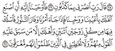Tafsir Surat Al-Mu'minun Ayat 26, 27, 28, 29, 30