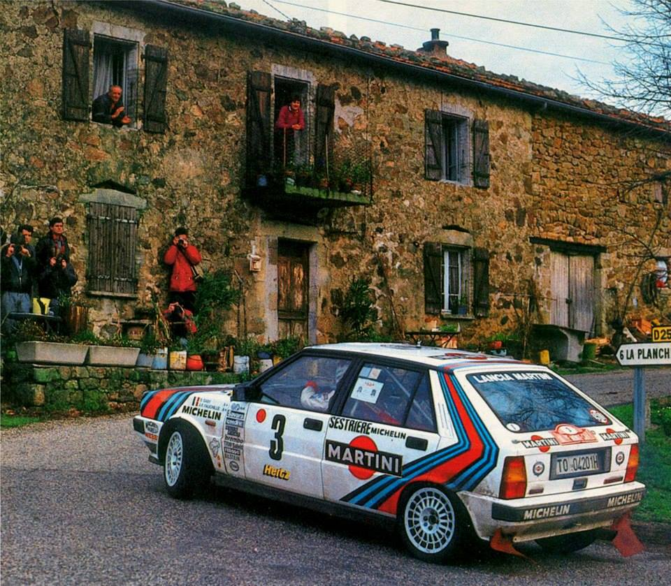 web rally rallye automobile de monte carlo 1988. Black Bedroom Furniture Sets. Home Design Ideas