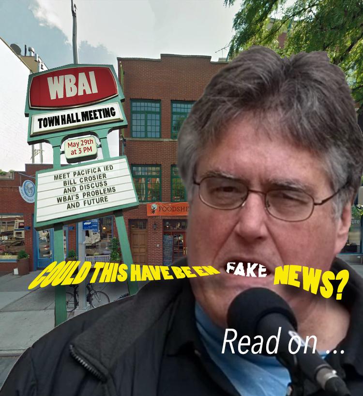 WBAI: A game of desperation?