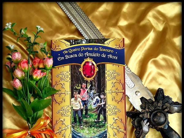 Resenha: Em busca do Amuleto Aloni - Elaine Samuel