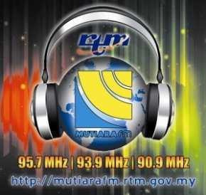 Radio Mutiara FM 95.7 MHz Pulau Pinang Malaysia