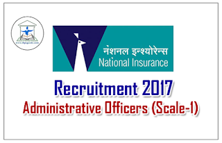 NICL Recruitment 2017 for Administrative Officers (Scale-1) – Check Here